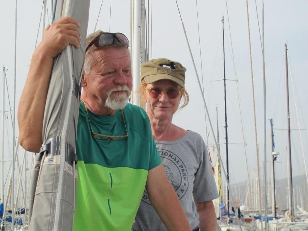 Steen og Rie fra TROLDAND, København. En Southerly 110
