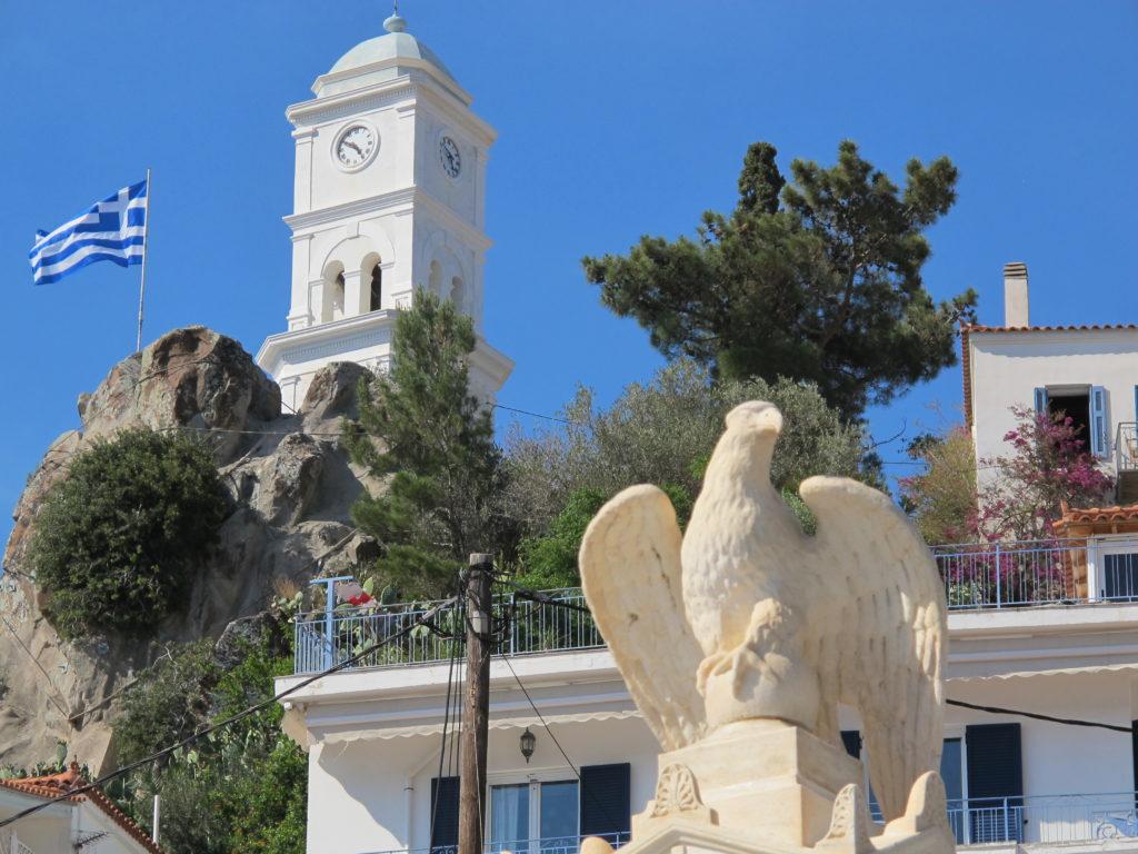 Klokketårnet på Poros