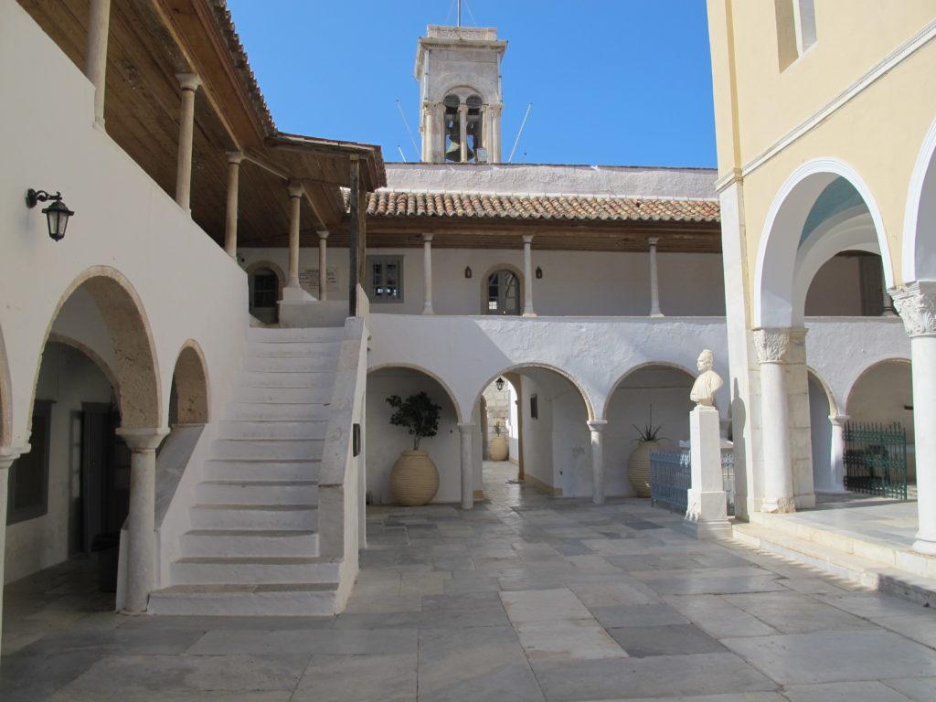 Klostergård på Hydra
