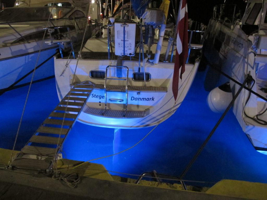 Smart belysning i havnemolen