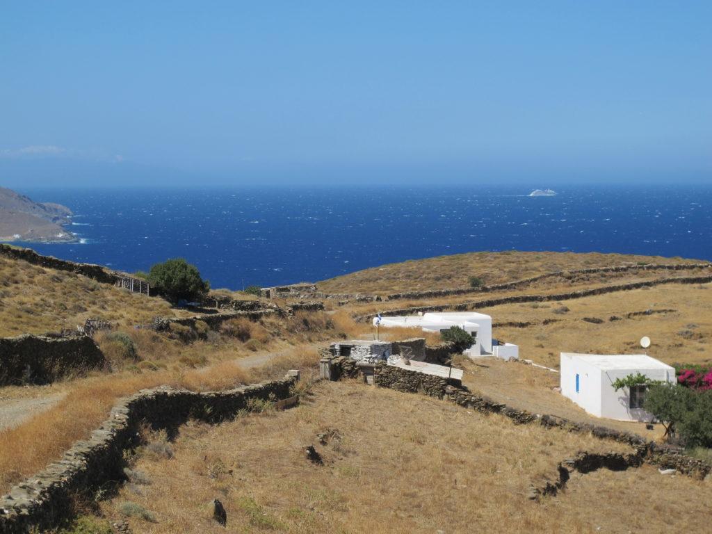 Det vilde Ægæerhav, hvor Meltemi-vinden hersker om sommeren!