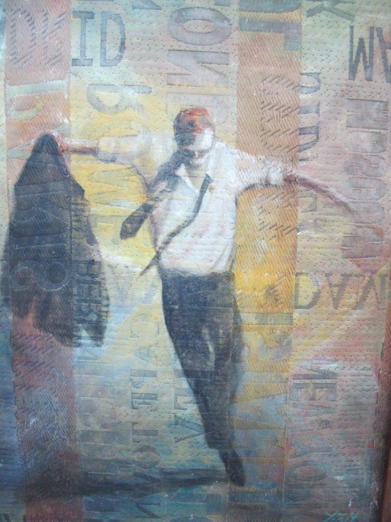 Elvans søde tyrkiske hustru leder bl.a. et galleri i byen. Mange fine kunstværker.