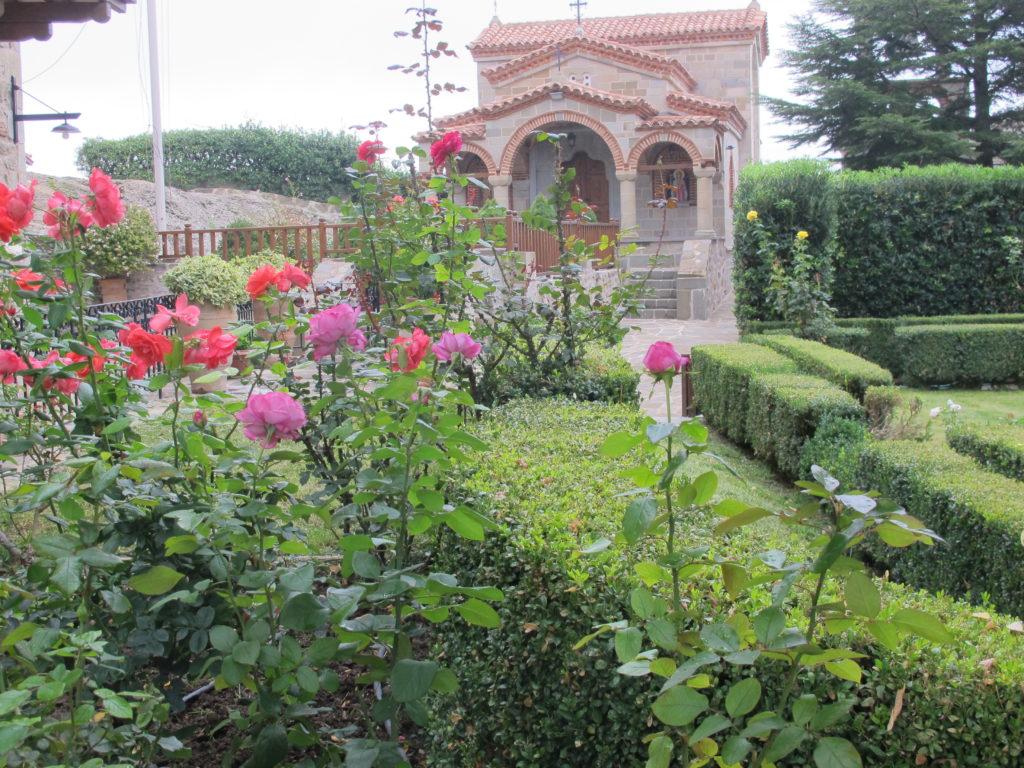 Der er meget smukt inde i klostergårdene